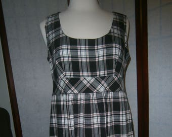 Women's Plaid Jumper