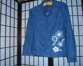 Women 39 s Denim Shirt Jacket