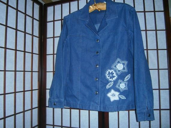 Women's Denim Shirt/Jacket - image 1