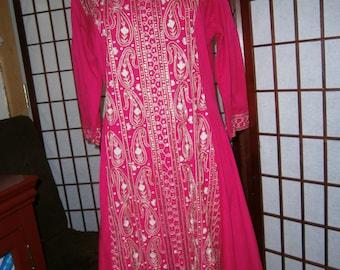 Women's Sari Style Dress -Ceremonial