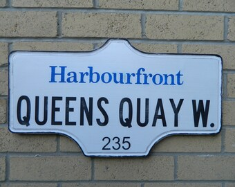 Toronto Street Sign - Harbourfront