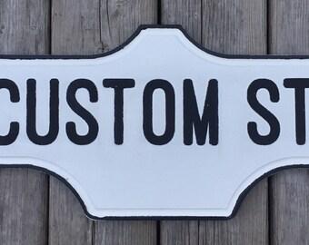 Toronto Street Sign - Custom Order
