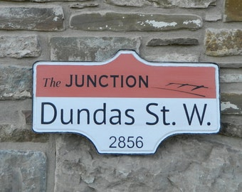 Toronto Street Sign - The Junction