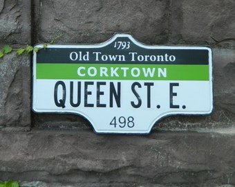 Toronto Street Sign - Cork Town