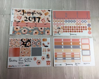 Planner Stickers-January Monthly Sticker Kit