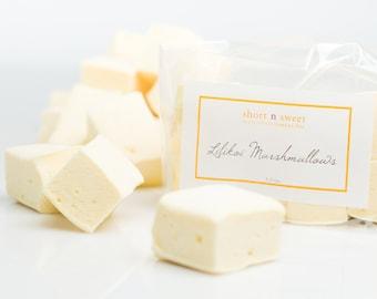 Lilikoi (passionfruit) gourmet marshmallows (2 pack)