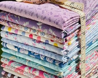 Tilda's Old Rose and Plum Garden bundle - Choose Your Bundle Size