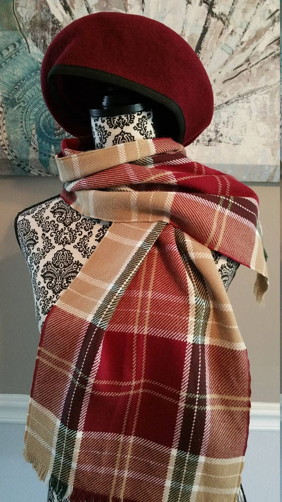 Beret and Scarf. Lovely Combination. Great Classic