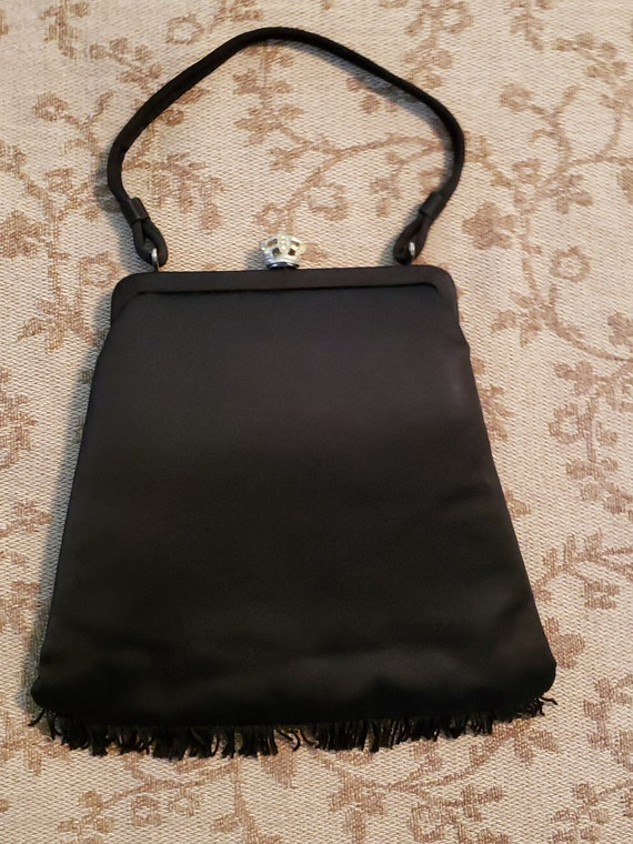 Julius Resnick Opera Bag, Great 20's Style. Black