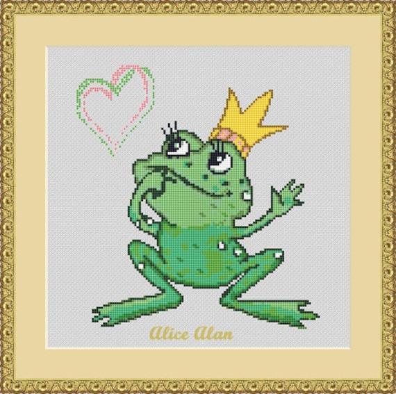 Cross Stitch Pattern Frog Drawings Haida Indians Frog ethnic monochrome Counted Cross Stitch PatternInstant Download Epattern PDF File