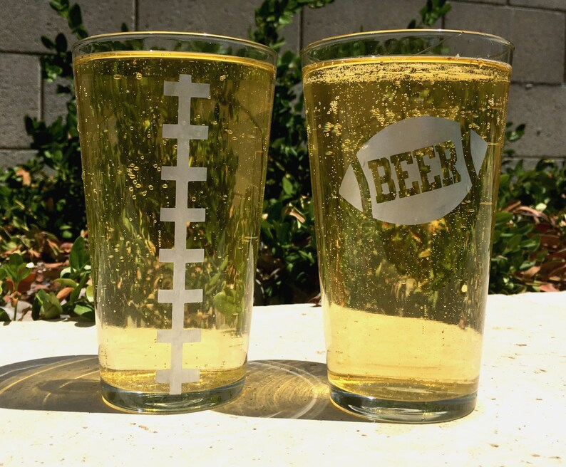 Diy Etched Beer Glass Set Of 2 Craft Kit Create Your Own Etsy