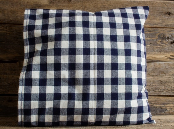 Prime Dark Blue And White Plaid Pillow Cover Decorative Pillow Re Used Sofa Pillow Rustic Pillow Pillow Sham Throw Pillow Pillows Ibusinesslaw Wood Chair Design Ideas Ibusinesslaworg