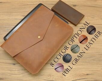 Genuine leather macbook sleeve, macbook case, laptop sleeve, macbook pro case, macbook air case, macbook cover, macbook pro sleeve, Sleeve