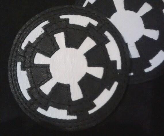 Fait à gilet Empire impérial Galactic avec Wars cuir sac en Star patch crête dos applique RnSRxr60