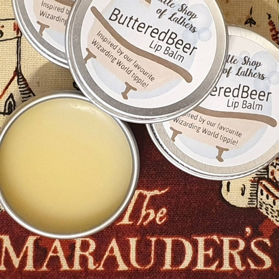 ButteredBeer Lip Balm - Harry Potter inspired - Cruelty Free - Moisturising Lip Balm - AllNatural balm - Butterbeer inspired Lip treat