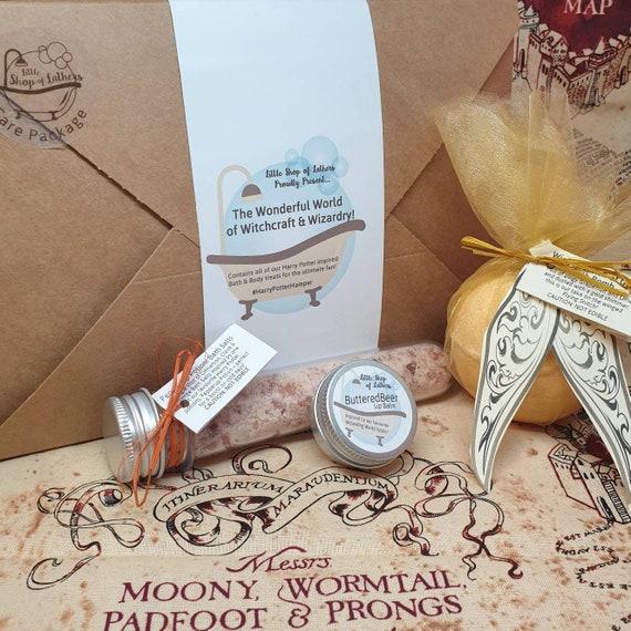 Wizarding World Bath Bombs Gift Set - All Natural Bath Fizzer - Harry Potter inspired - Handmade Aromatherapy BathBombs - Vegan Bath Bombs