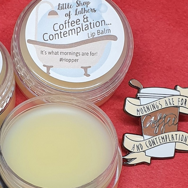 Coffee and Contemplation Lip Balm  Stranger Things  Hopper  image 0