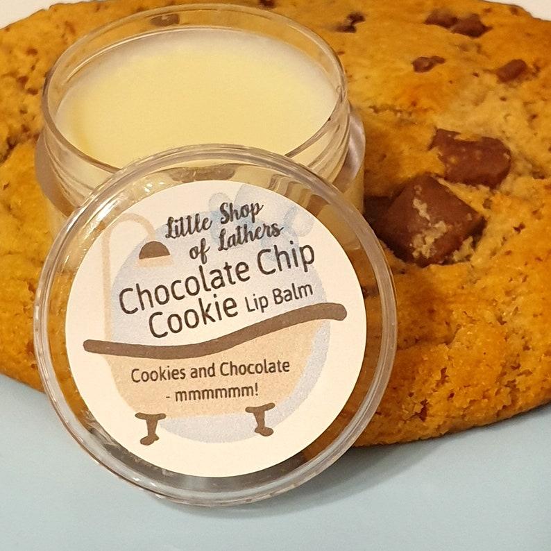 Chocolate Chip Cookie Lip Balm  Cruelty Free  Moisturising image 0