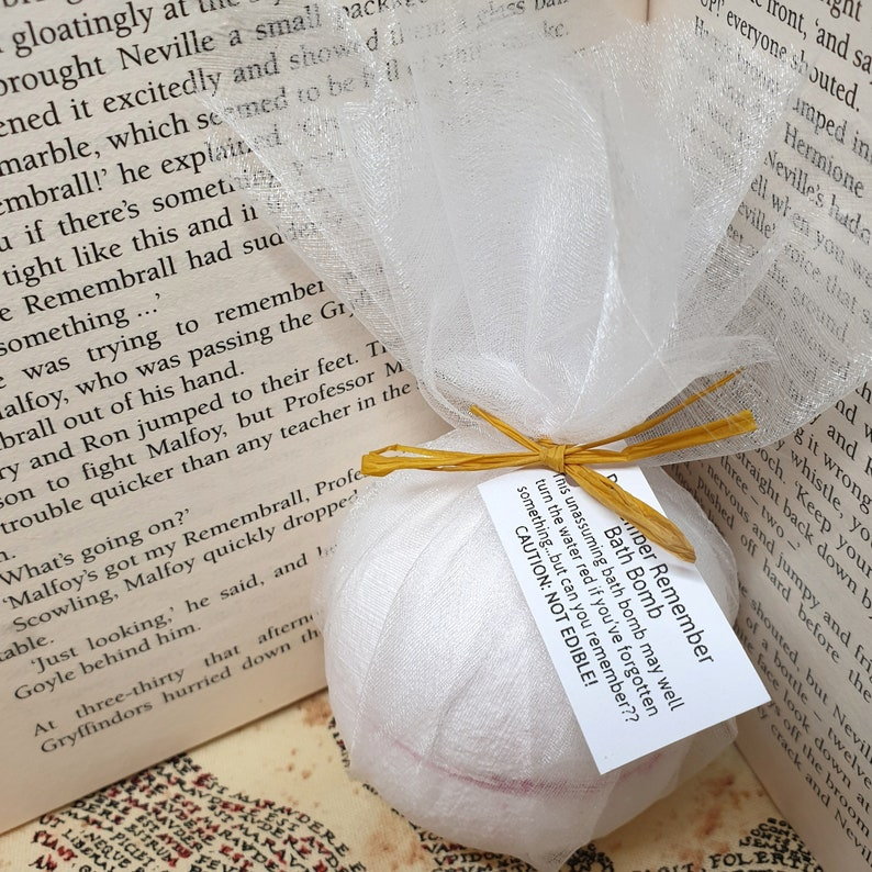Remembering Bath Bomb  Harry Potter Gift  Remember-All  All image 0