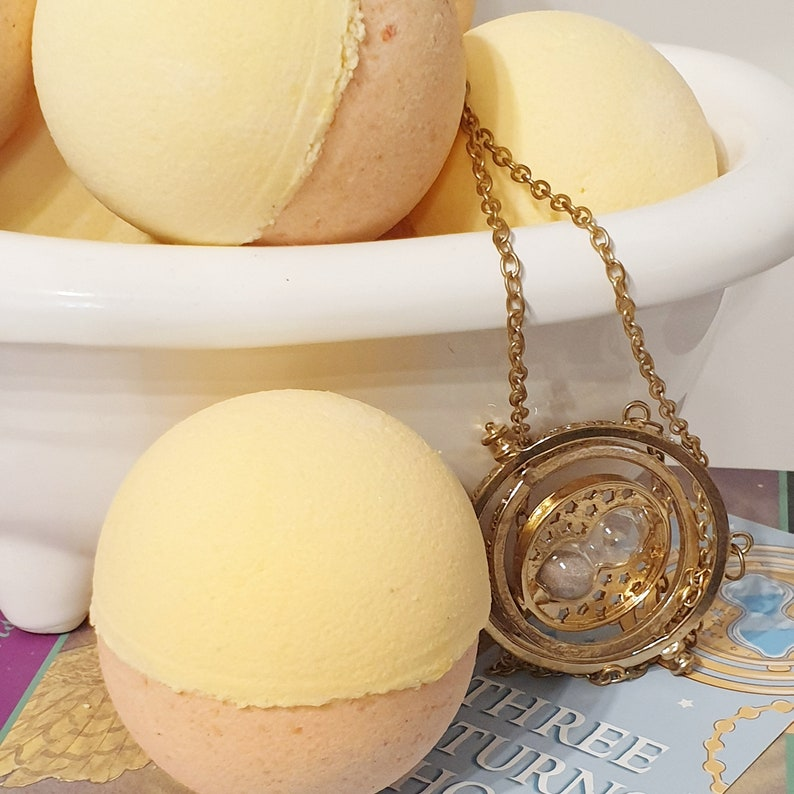 Turner of Time Bath Bomb  Harry Potter Gift  All Natural image 0