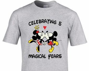 Disney Anniversary Shirts Etsy