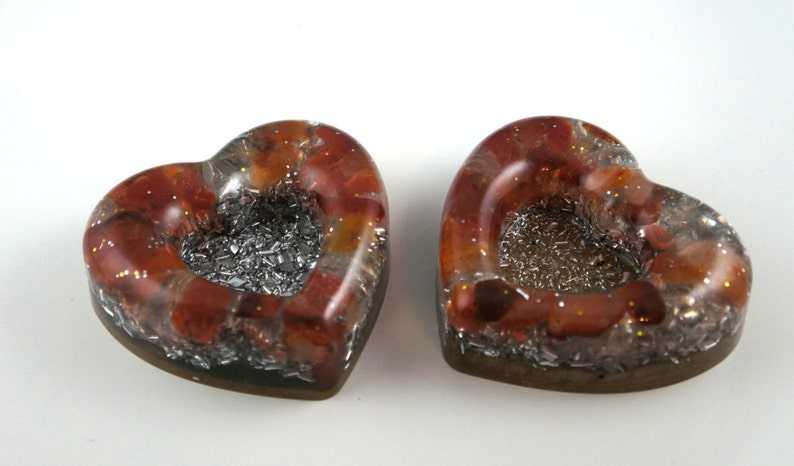 Heart Positive orgone energy resin creation sustainable image 0