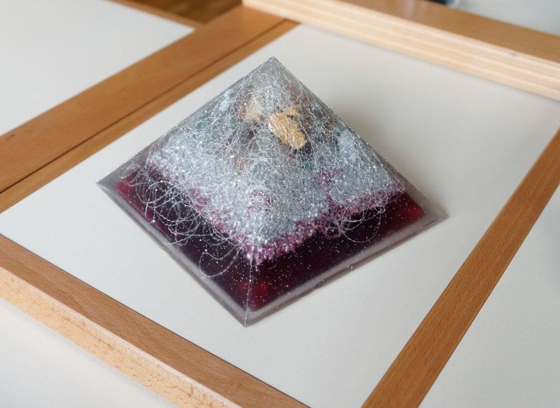 Very big large Positive orgone energy resin creation image 0