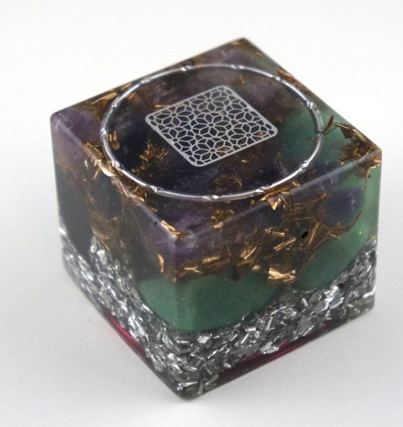 Orgone cube Positive orgone energy resin creation image 0