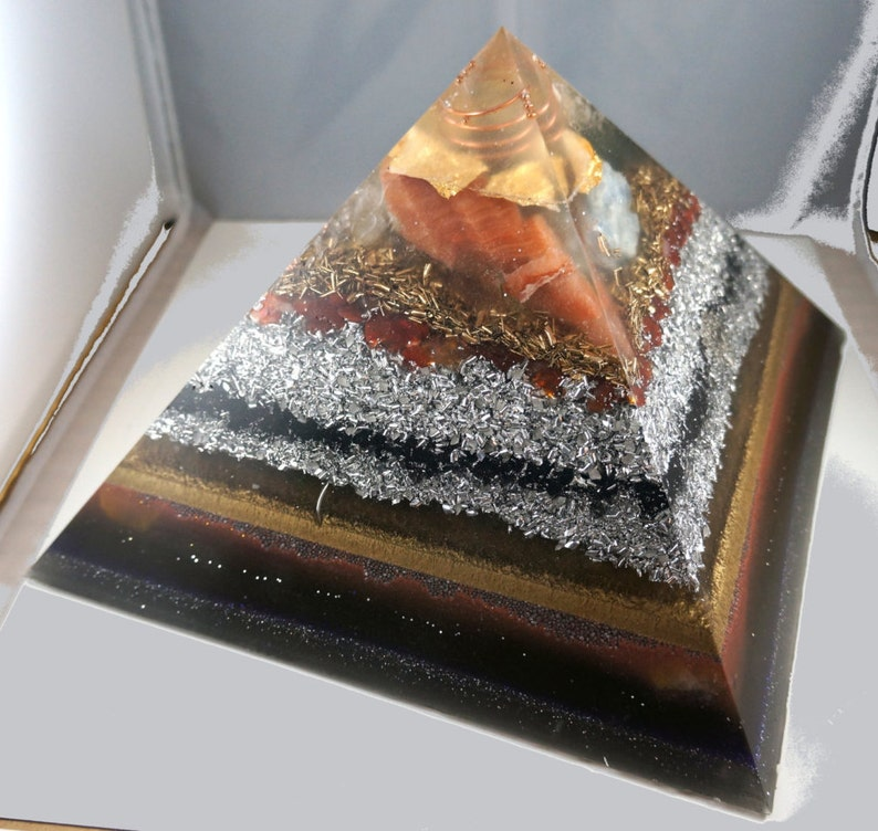Very big large Positive orgone energy resin creation image 1