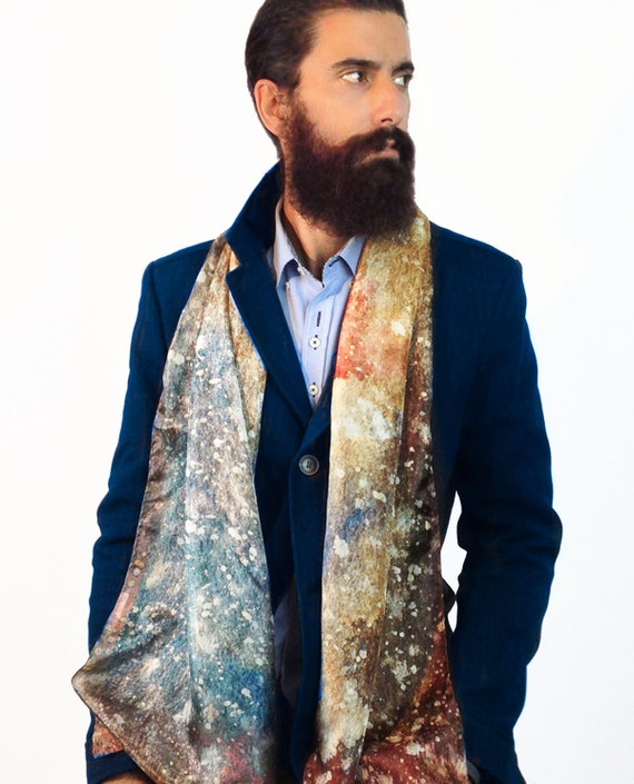 men s silk scarf man hipster scarf men fashion
