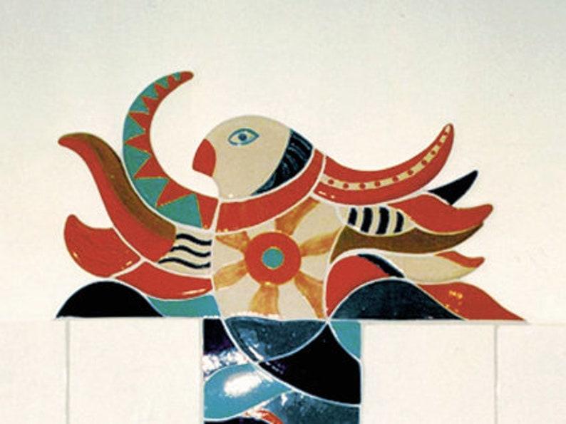 Tile painting tile painting mosaic painting custom made image 0