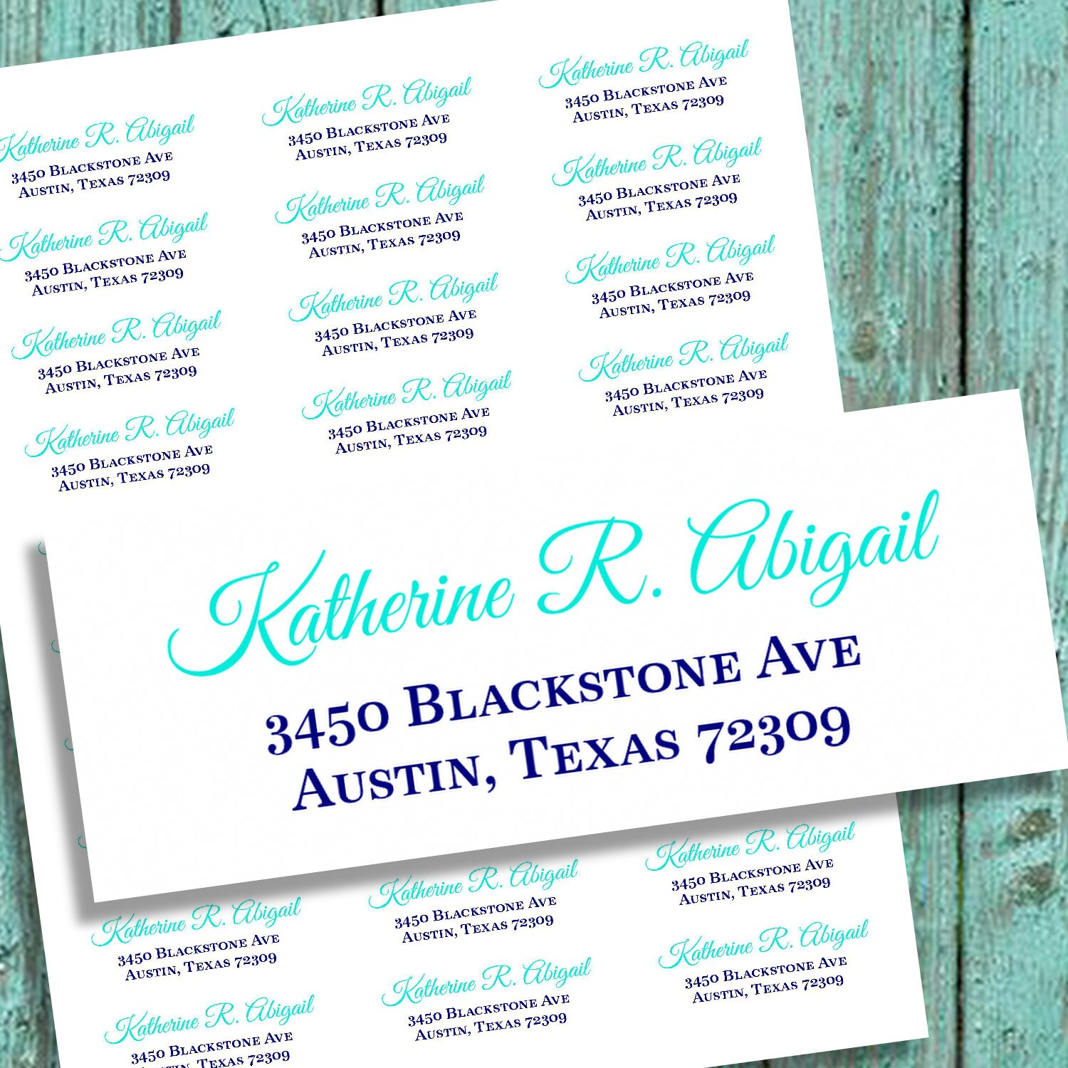 It's just a graphic of Monster Printable Return Address Labels