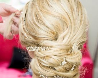 Wedding Hair vine, Bridal Hairpiece, Wedding Hair Accessory, Bridal Hair Accessory, Wedding Hair Accessory