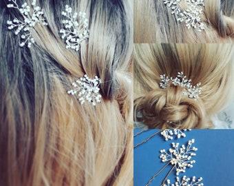 Bridal Bridesmaid Hair Pins, Wedding Hair Accessory, Wedding Hair Accessory, Hair Jewellery, Prom Hair Accessory