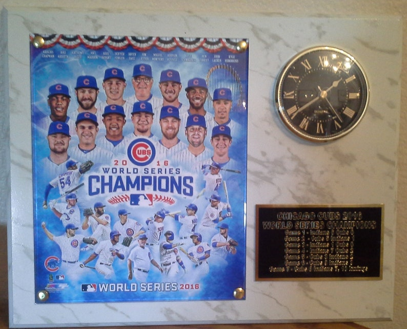 7a49aef61 Chicago Cubs 2016 World Series Champions