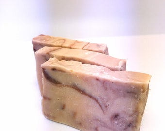 Happie Coconut Rosemary Mint Goat Milk Soap - All Natural Soap - Handmade Soap - Handcrafted Soap - Sensitive Skin Soap - Natural Soap