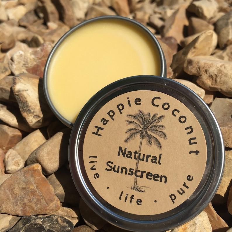 Natural Sunscreen Happie Coconut Organic Sunscreen  image 0