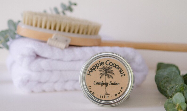 Comfrey Salve with Calendula  All-natural Wellness  Natural image 0