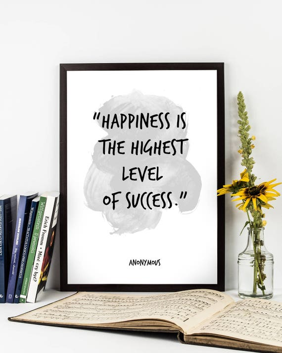 Image of: Facebook Covers Image Etsy Happiness Is The Highest Happiness Quote Anonymous Etsy