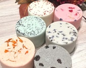 Aromatherapy Shower Steamer Natural Bath Bombs - Home Spa Zen Bath Shower Gift Set of 6 - Botanical Spa Stress Relief