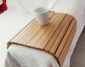 Sofa Tray, Wooden Tray, Flexible Chair Tray, Wooden TV Tray, Wooden Coffee  Table, Sofa Tray Table, Lap Trays Bed, Breakfast Tray, TV Tray