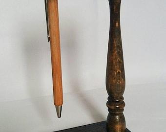 Wooden pen, Wooden pen with stand, Wooden pen for desk, Magic pen, Pen hanging, Wooden pen on magic stand, Pen hanging on magic stand, Gift,