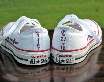 4527c668dc76 Custom Wedding Converse