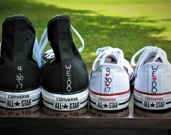 ac1d9349a431 Custom Color Husband Wife Converse