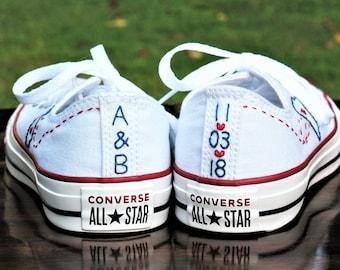 3a0b1453ef9f Custom Wedding Converse