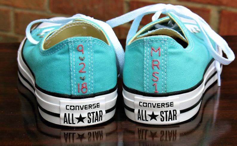 487d58e81e5c Custom Wedding Converse Custom Converse Custom Chuck