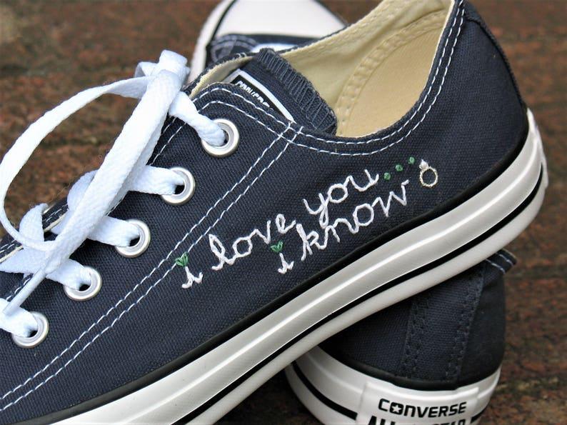 b2692c24693f Wedding Converse Wedding Chucks Chuck Taylors Custom