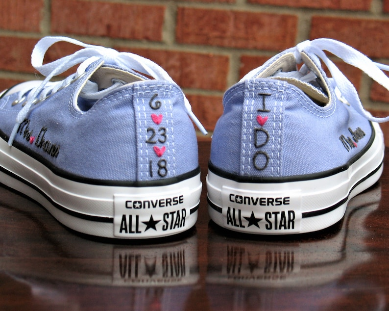 2eb98de3ae18 Custom Converse Embroider converse Shoes not included