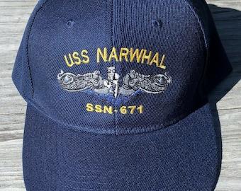 679 Ball Cap Embroidered US Navy Vet Submarine Veteran Hat USS Silversides SSN