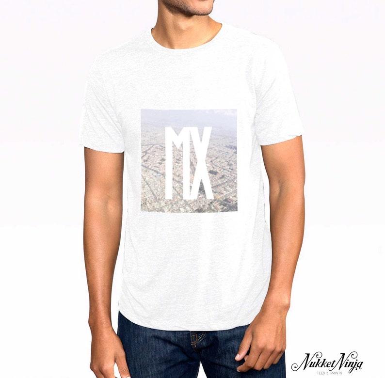 aeac3f9f26a71 Mexico City t-shirt. Mexico t-shirt. City t-shirts. Mexico | Etsy